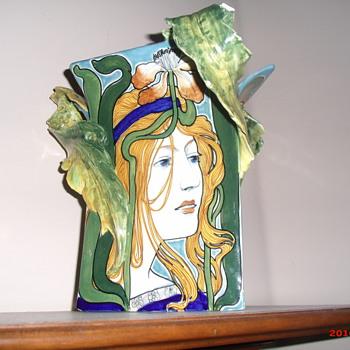 Salvini Italia art nouveau vase - Art Nouveau