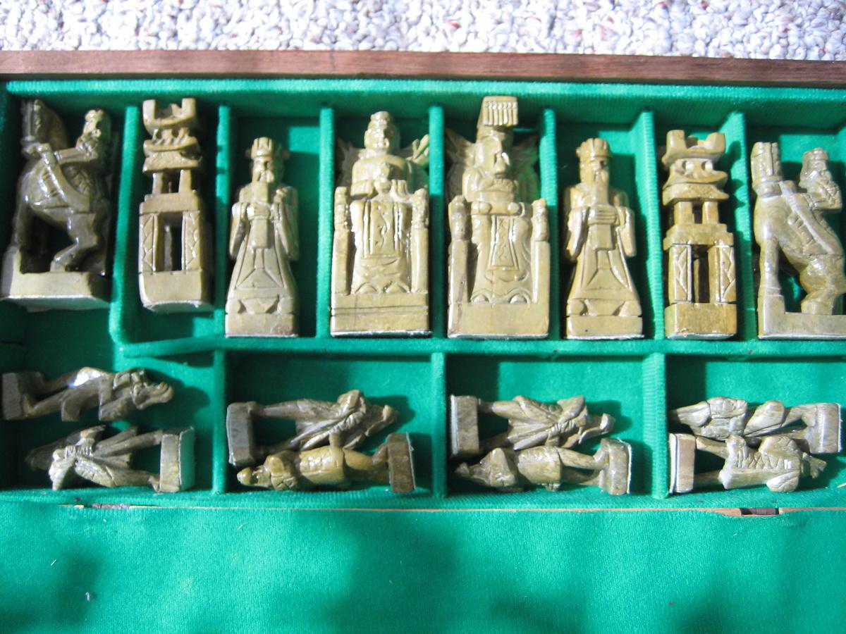 Vintage Korean Chess Set Collectors Weekly