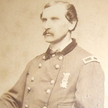 General Edward Whitaker, 1st CT Cavalry and Custer's Chief of Staff - Military and Wartime