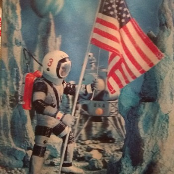 The REAL First Man on the Moon! - Postcards