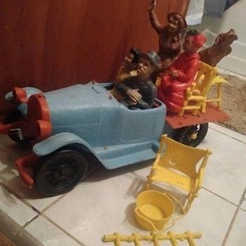 """1960's """"Ideal"""" Beverly Hillbillies Car ! ! ! ! ! ! ! !  - Toys"""