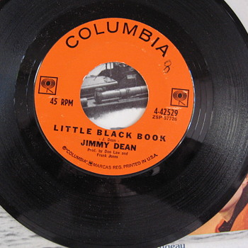 Jimmy Dean 45 Record  - Records