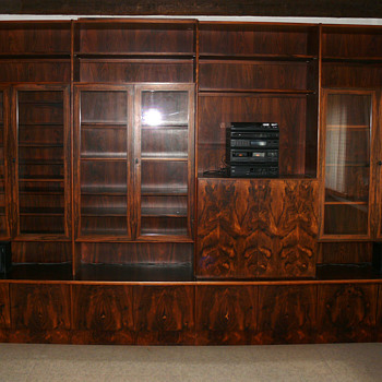 two rosewood units - Furniture
