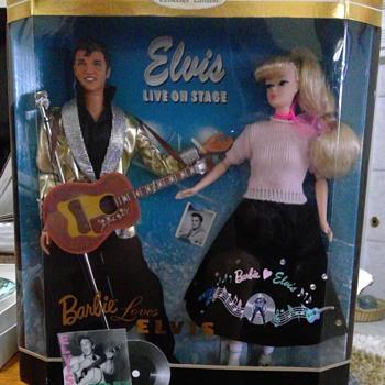 Mint Condition Barbie Loves Elvis - Dolls
