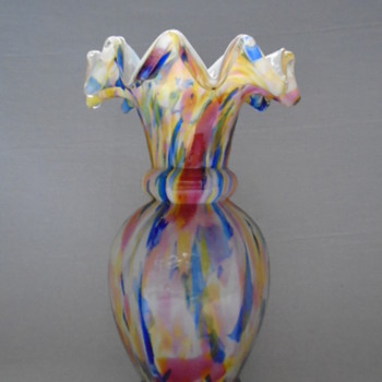 Welz Hexagonal Vase - Art Glass