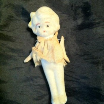 Old miniature doll