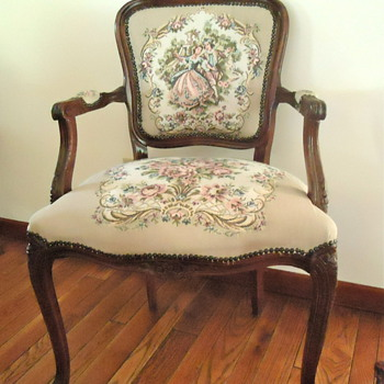 Grandparent's Victorian Style Arm Chair - Furniture