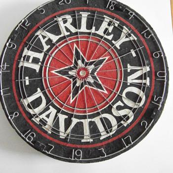 Harley-Davidson Dart Board