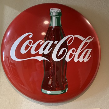 "36"" Coke button - Coca-Cola"