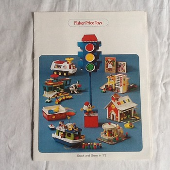 FP 1972 merchandisers catalog very good condition