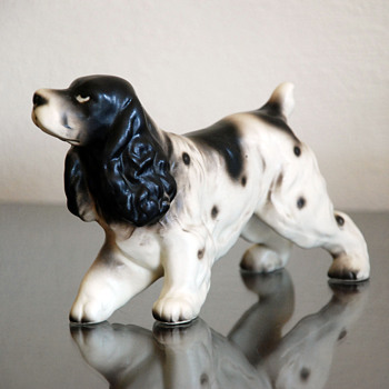 Cocker Spaniel Dog Figurine - Animals