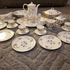 Forget me not Westwood by Limoges China tea set