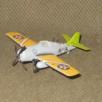 Bachmann Mini-PlanesGrumman F4F Wildcat 1970s  - Toys