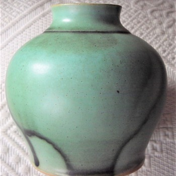 German art pottery vase - Pottery