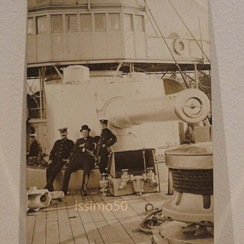 HMS GIBRALTAR  - Postcards
