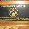 Fairbanks-Morse Builders tag