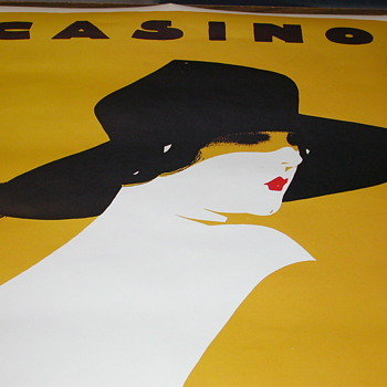 Vintage Casino Poster  - Posters and Prints