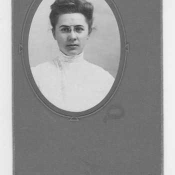 Great Grandmother portrait Logo unidentified - Photographs
