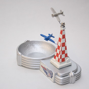 Cleveland National Air Race Ashtray - Advertising