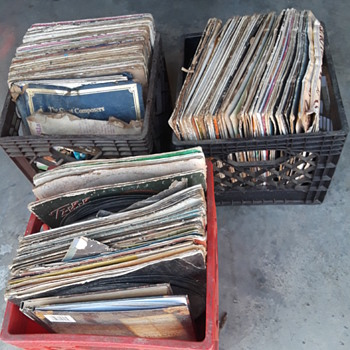 another batch of LP's - Records
