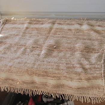 wool blanket churro Navajo  - Rugs and Textiles
