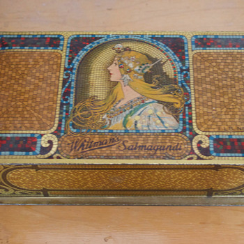 Whitman Candy Salmagundi Box - Advertising