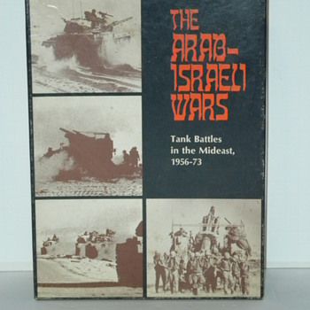 Arab - Israeli Wars Board Game - Games