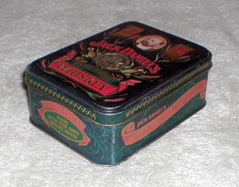 1980 S Jack Daniel S Whiskey Tin Box Collectors Weekly