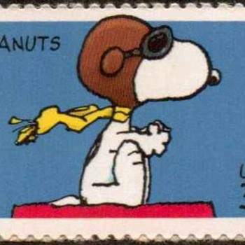 "2001 - ""Snoopy"" Postage Stamp (US)"