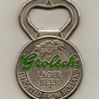 Grolsch Beer Bottle Opener - Breweriana