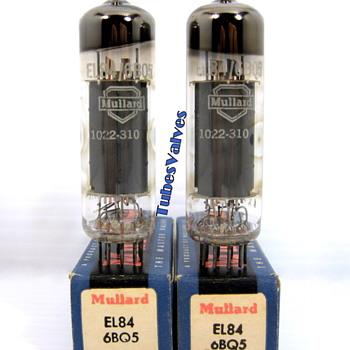Mullard EL84 6BQ5 Radio Tubes valves - Radios
