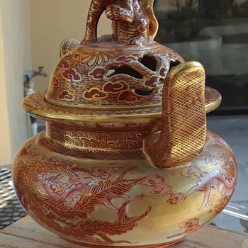 My father-in-law's Japanese vase... - Asian