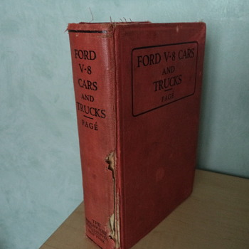 Ford V-8 Cars and Trucks Book Manual 1947