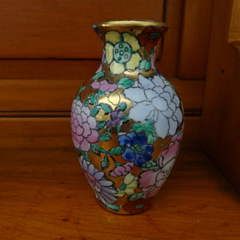 Little Floral Vase - Asian