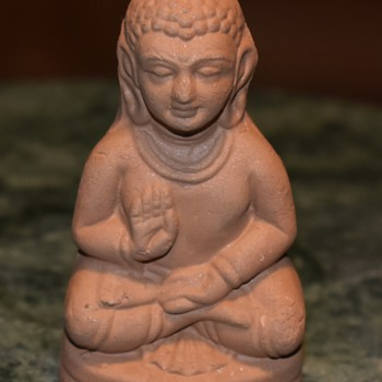 Small Pottery Lakshmi? - Asian