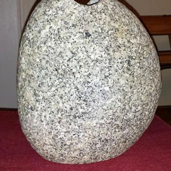 Large Natural Stone Vase
