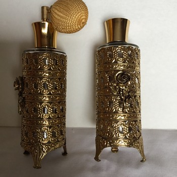 Can anyone help with these Perfume bottles?