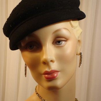 New York Creation 1950s Toque Topper from New York Creations