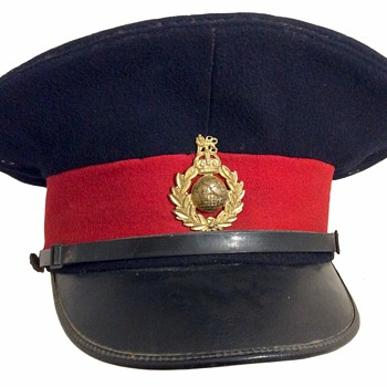 British Royal Marines's Forage cap - Military and Wartime