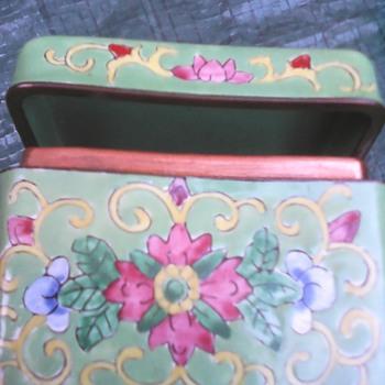 My enamel box - Asian