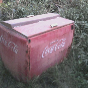 coca-cola ice only cooler