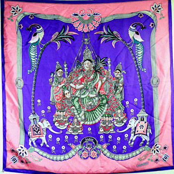 Hermes India Silk Scarf France - Accessories