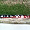 U-S-A Motor Oil sign