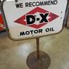D-X curb sign