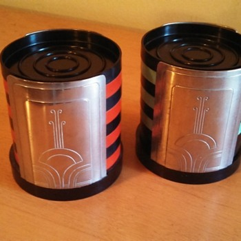 Art Deco Dura Drink Coasters Sets - Art Deco