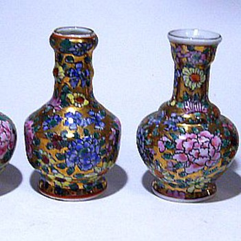 Chinese Small Vases -- New or older ?? - Asian