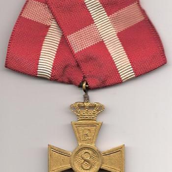 Denmark's Faithful Service Award