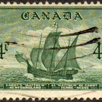 "1949 - Canada ""Newfoundland"" Postage Stamp"