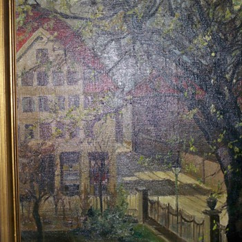 1937  painting  - Arts and Crafts
