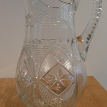 KAREL PALDA ? GLASS JUG C.1905 - Glassware